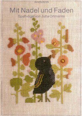 Книга по вышивке крестиком забавных птичек скачать