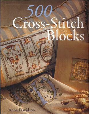 Anna Davidson - 500 Cross-Stitch Blocks скачать