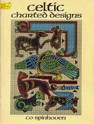 Celtic Charted Designs / Кельтские орнаменты для вышивки крестом скачать