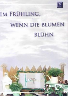 Tanja Franz Im Fruhling, wenn die Blumen bluhn (Весна. Вышивка крестом) скачать