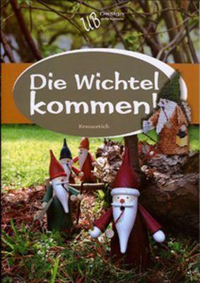 Ulrike Blotzheim Die Wichtel kommen (Вышиваем гномов) скачать