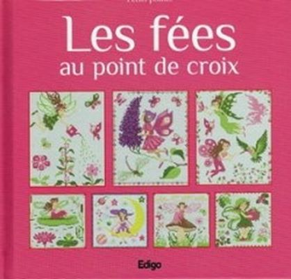 Les fees au point de croix (Вышивка крестом для детей. Феи) скачать