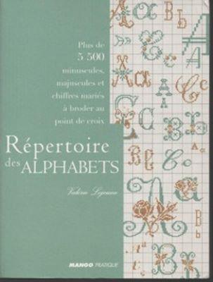 Repertoire des alphabets (Шрифты для вышивки крестом) скачать