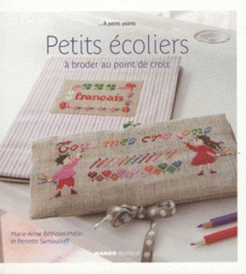 Petits ecoliers a broder au point de croix (Вышивка крестом) скачать