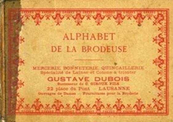 Alphabet de La Brodeuse / Азбука вышивальщицы скачать