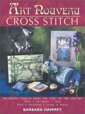Art nouveau cross stitch ( вышивка крестиком, мотивы в стиле ар нуво ) скачать