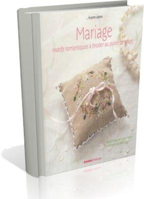 Mariage: Motifs romantiques a broder au point de croix скачать