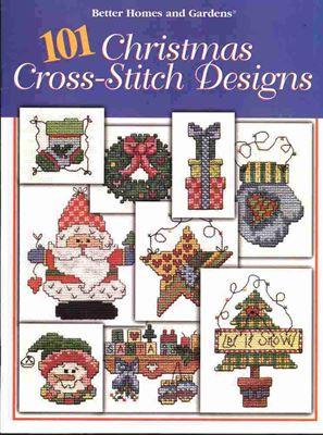 101 Christmas Designs Book / 101 образец Рождественской вышивки скачать