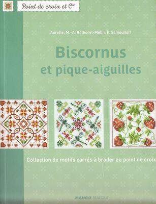 Biscornus et pique-aiguilles: Collection de motifs carres a broder au point de croix скачать