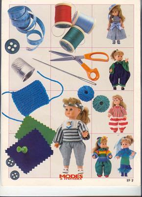 Пошив и вязание одежек для пупсов скачать