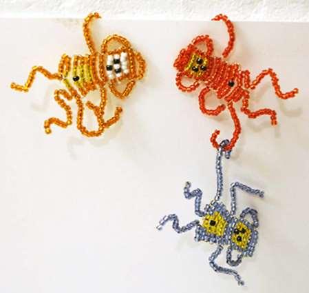 Обезьянка - схема плетения