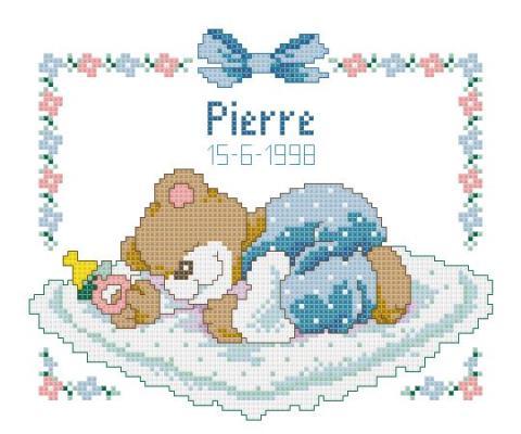 Tableau de naissance Ours Pierre