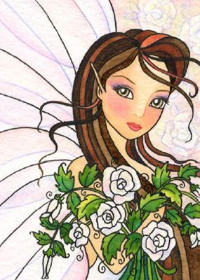 QS White Rose Fae схема