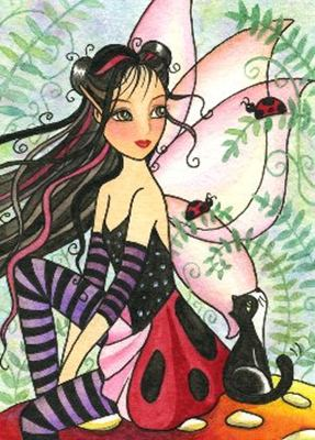 QS Lady Bug Kitty Fae схема