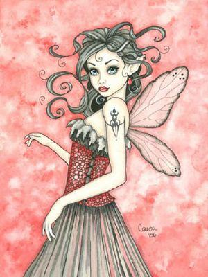 Glam Gothic Fairy схема
