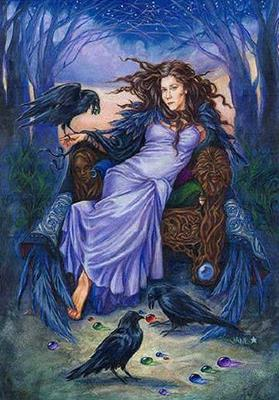 Kelly of Raven Wood схема вышивки