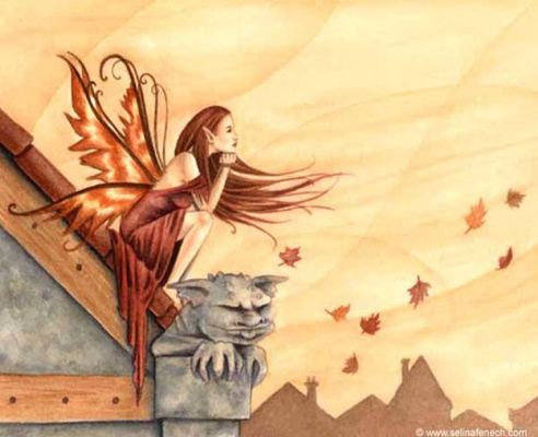Autumn Winds схема вышивки крестом