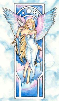 Angel of Truth схема вышивки крестиком