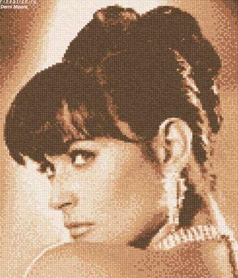 """Схема """"Портрет Demi Moore"""""""