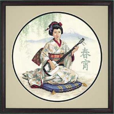 Восточная музыкантша