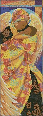 Bucilla - Angel схема вышивки крестом