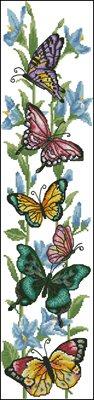 Dreamy Butterfly схема вышивки крестом