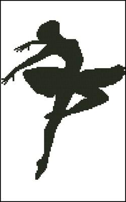 Балерина 2 схема вышивки крестиком скачать бесплатно