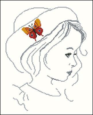 Wings of Dreams 3 схема вышивки крестиком