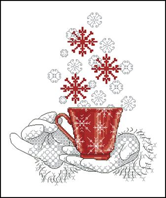 Чашка полна желаний схема вышивки крестиком