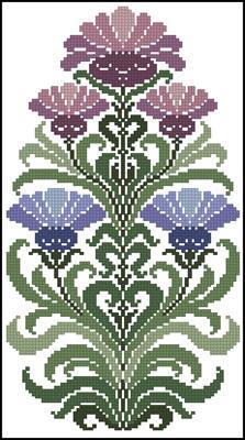 Fiori antichi вышивка