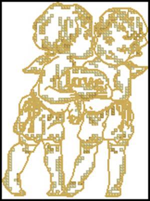 Words of Gold схема вышивки крестиком