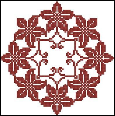 Autums Wreath схема вышивки крестиком