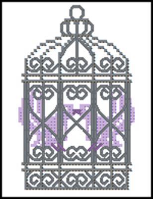 Victorian Love brids рисунок вышивки