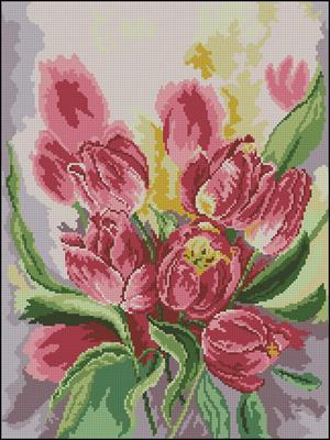 Tulips крестом скачать