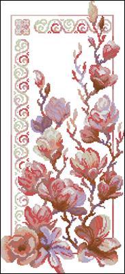Summer flowers крестиком вышивать