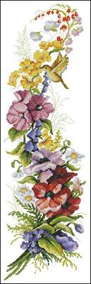 Краски лета схема вышивки крестом
