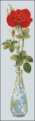 Queen of flowers схема вышивки крестиком