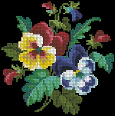 Старинные узоры 4 (цветы)