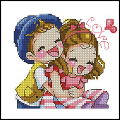 Мальчик + девочка