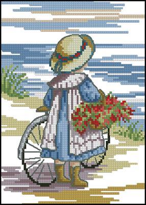 Flowers for home схема вышивки крестиком бесплатно скачать