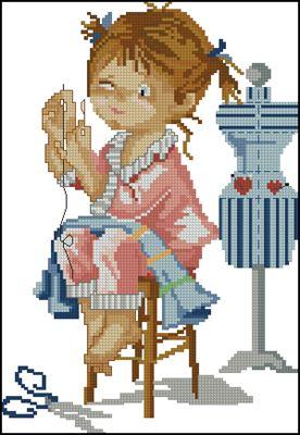 Маленькая рукодельница