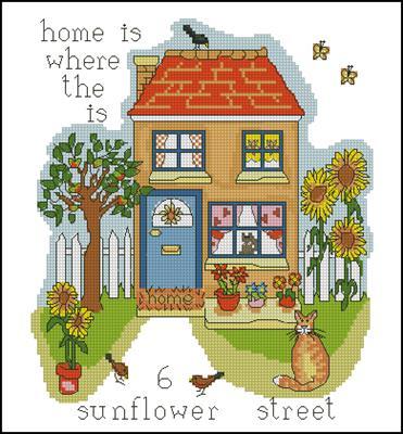 Home вышивка крестиком схема скачать