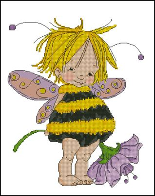 Little bee fairy