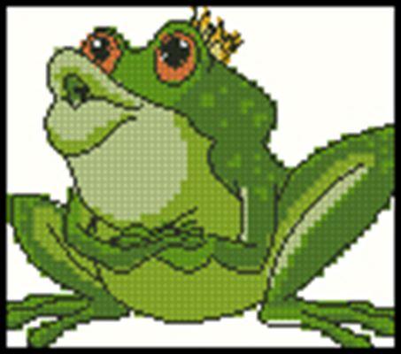 Царевна-лягушка вышивка крестом
