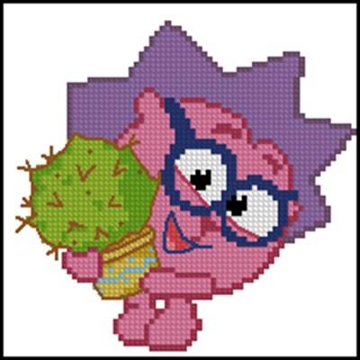 Ежик из мультфильма Смешарики