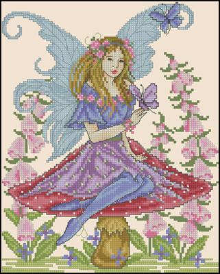 Fairy схема вышивать крестиком