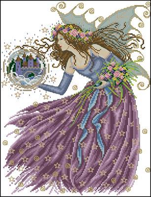 Stardust Fairy схема вышивки