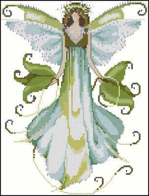Pixie Couture C.-Morning Glory схемы вышивки крестом
