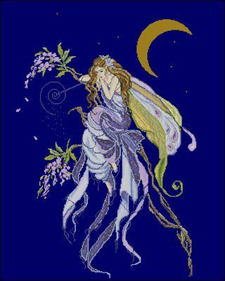 Fairy of Dreams схема вшивки крестом