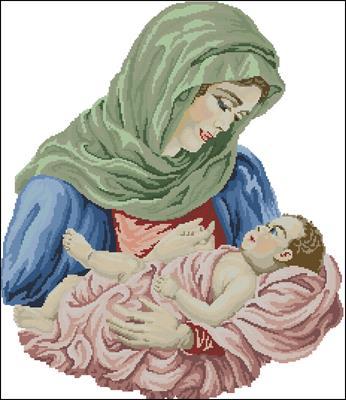 Mother's Love схема вышивки крестом